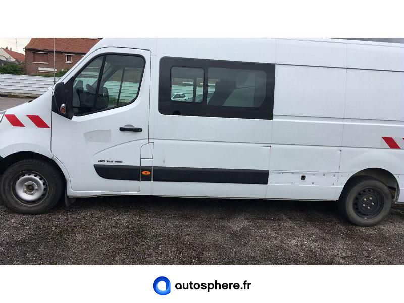 RENAULT MASTER F3500 L3H2 2.3 DCI 145CH ENERGY CABINE APPROFONDIE CONFORT EURO6 - Miniature 3
