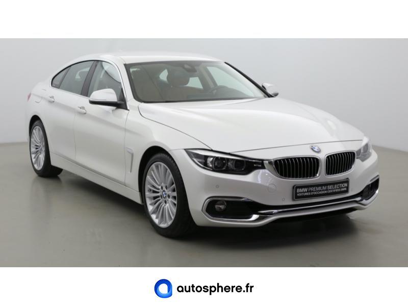 BMW SERIE 4 GRAN COUPE 420IA 184CH LUXURY - Miniature 3