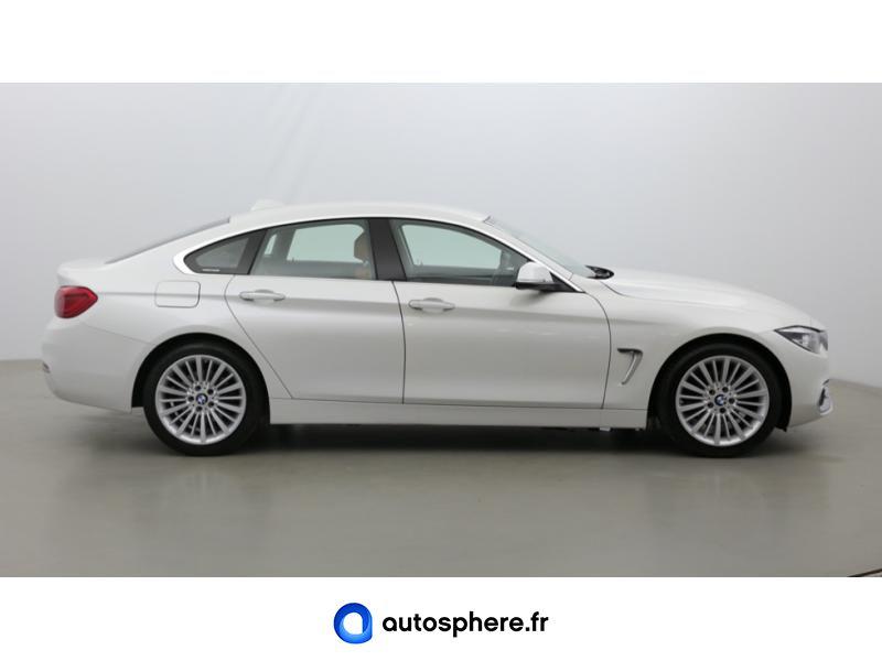 BMW SERIE 4 GRAN COUPE 420IA 184CH LUXURY - Miniature 4