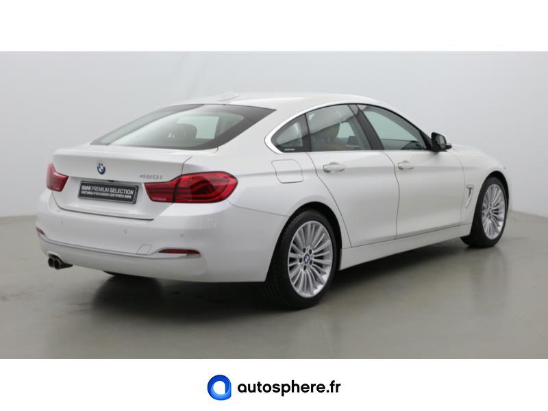 BMW SERIE 4 GRAN COUPE 420IA 184CH LUXURY - Miniature 5