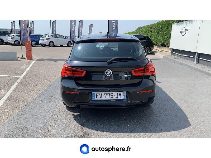 BMW SERIE 1 116DA 116CH BUSINESS DESIGN 5P - Miniature 4
