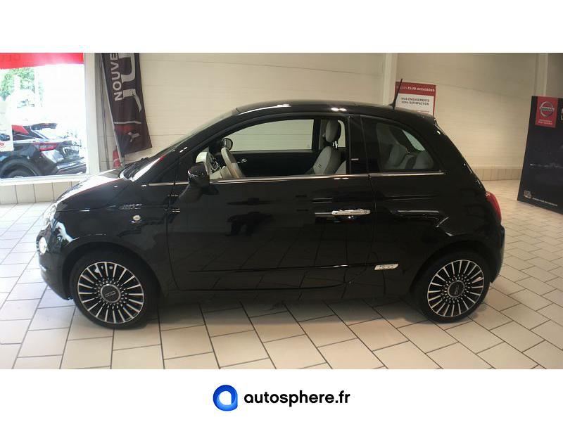 FIAT 500 1.2 8V 69CH LOUNGE - Miniature 3