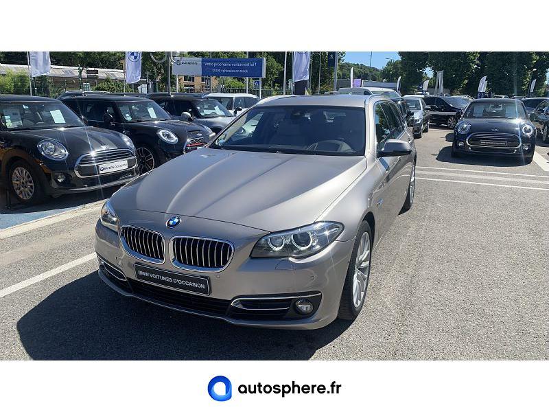 BMW SERIE 5 TOURING 525DA 218CH LUXURY - Miniature 1