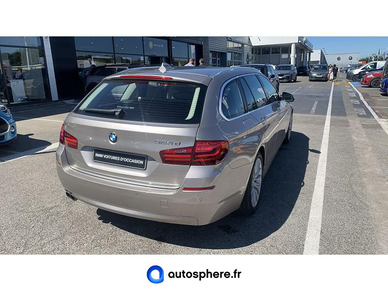 BMW SERIE 5 TOURING 525DA 218CH LUXURY - Miniature 2