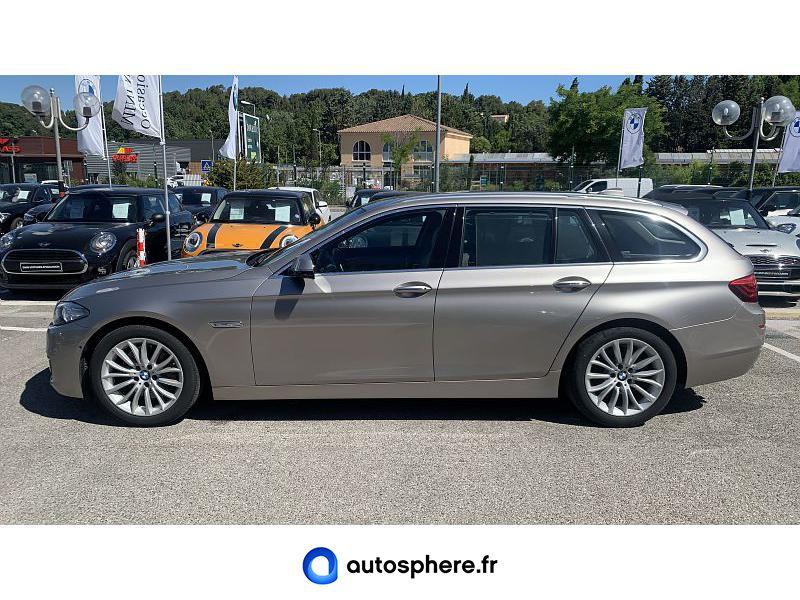 BMW SERIE 5 TOURING 525DA 218CH LUXURY - Miniature 3