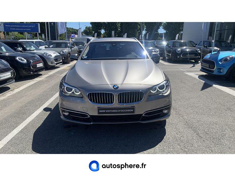 BMW SERIE 5 TOURING 525DA 218CH LUXURY - Miniature 5