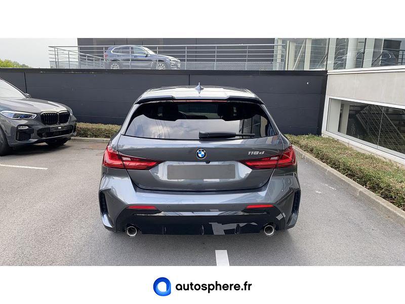 BMW SERIE 1 118D 150CH M SPORT 8CV - Miniature 4