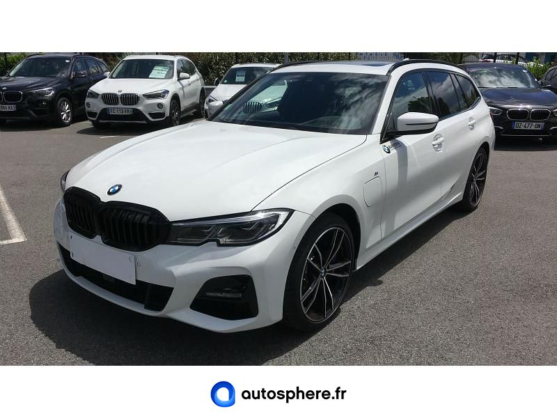 BMW SERIE 3 TOURING 330EA XDRIVE 292CH M SPORT - Miniature 1