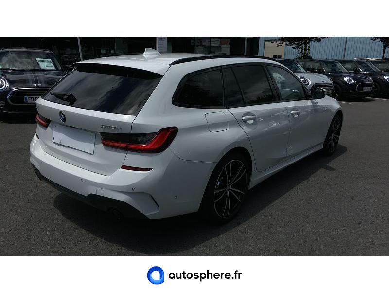 BMW SERIE 3 TOURING 330EA XDRIVE 292CH M SPORT - Miniature 2