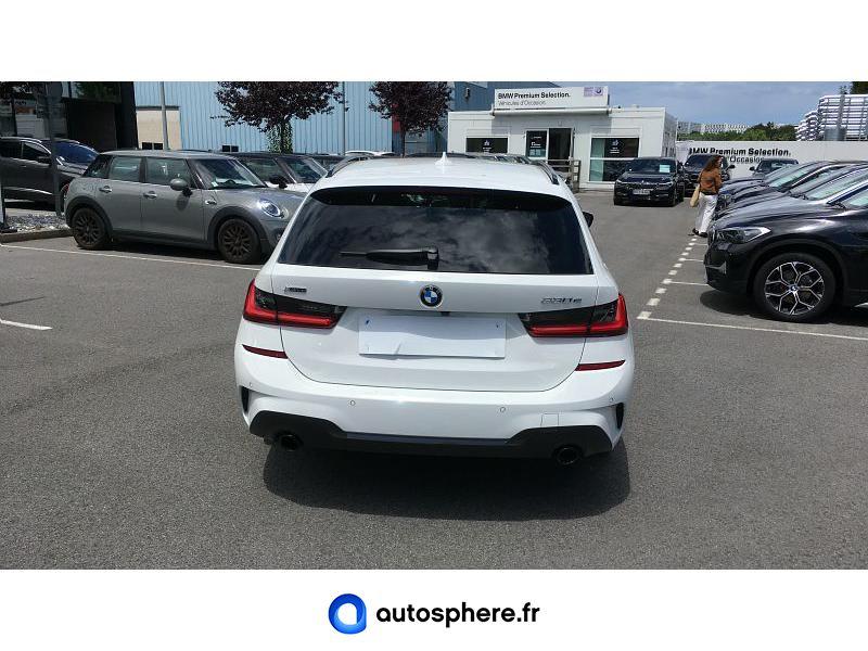 BMW SERIE 3 TOURING 330EA XDRIVE 292CH M SPORT - Miniature 4