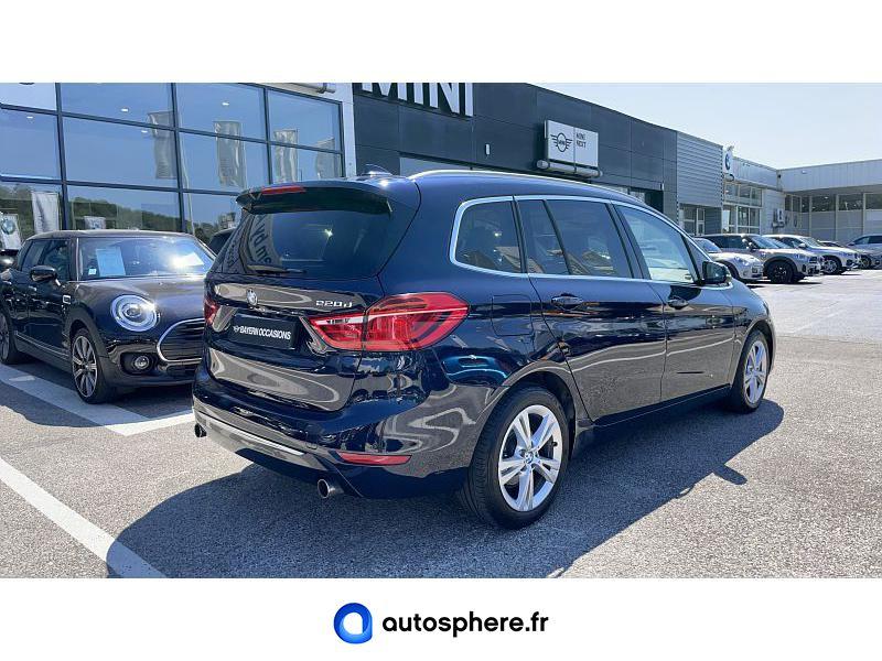 BMW SERIE 2 GRAN TOURER 220DA XDRIVE 190CH LUXURY - Miniature 2
