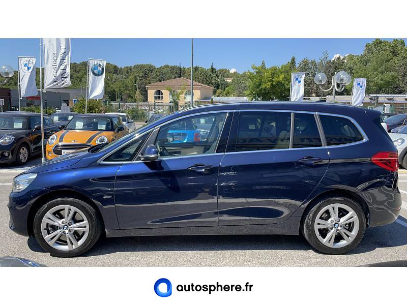 BMW SERIE 2 GRAN TOURER 220DA XDRIVE 190CH LUXURY - Miniature 3