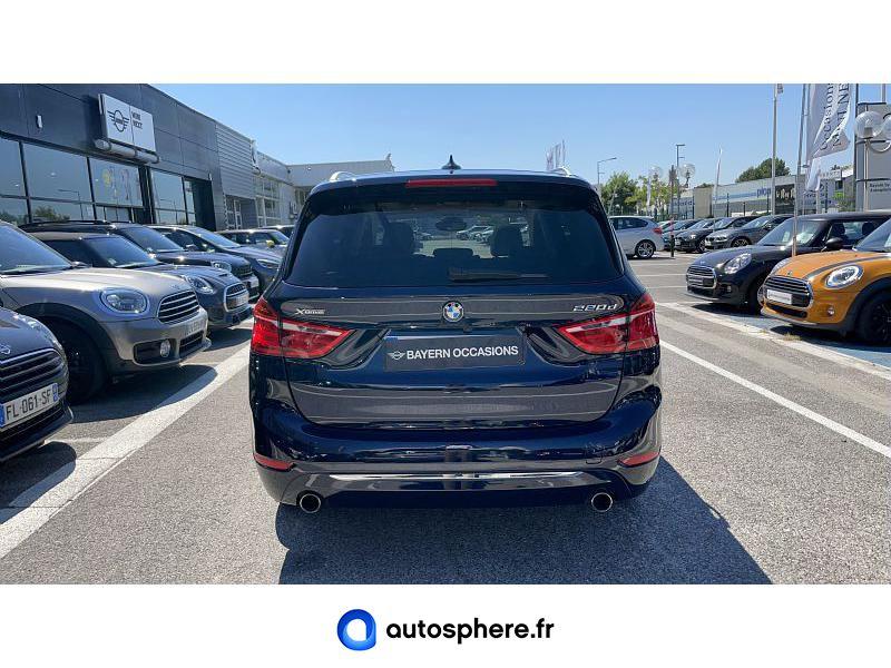BMW SERIE 2 GRAN TOURER 220DA XDRIVE 190CH LUXURY - Miniature 4