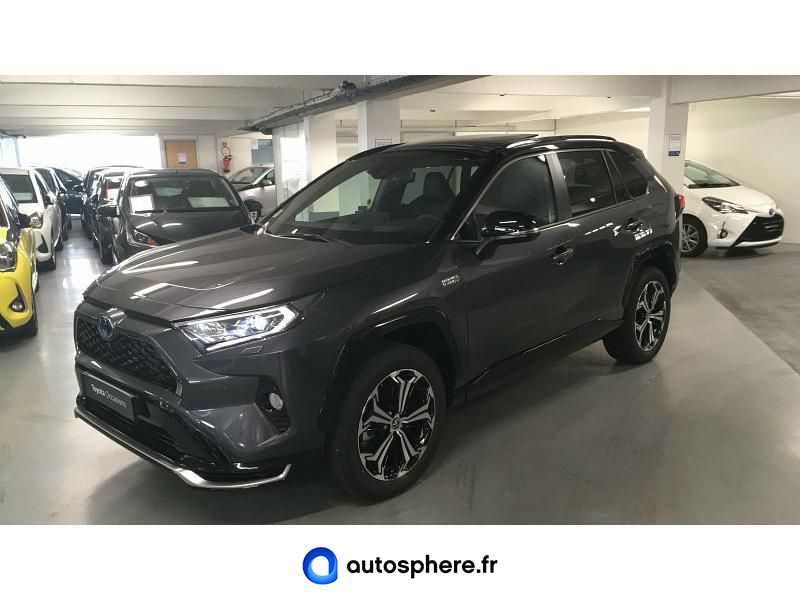 TOYOTA RAV4 HYBRIDE RECHARGEABLE 306CH COLLECTION AWD - Miniature 1