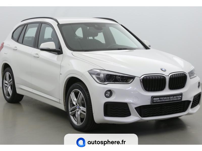 BMW X1 SDRIVE18IA 140CH M SPORT DKG7 EURO6C - Miniature 3