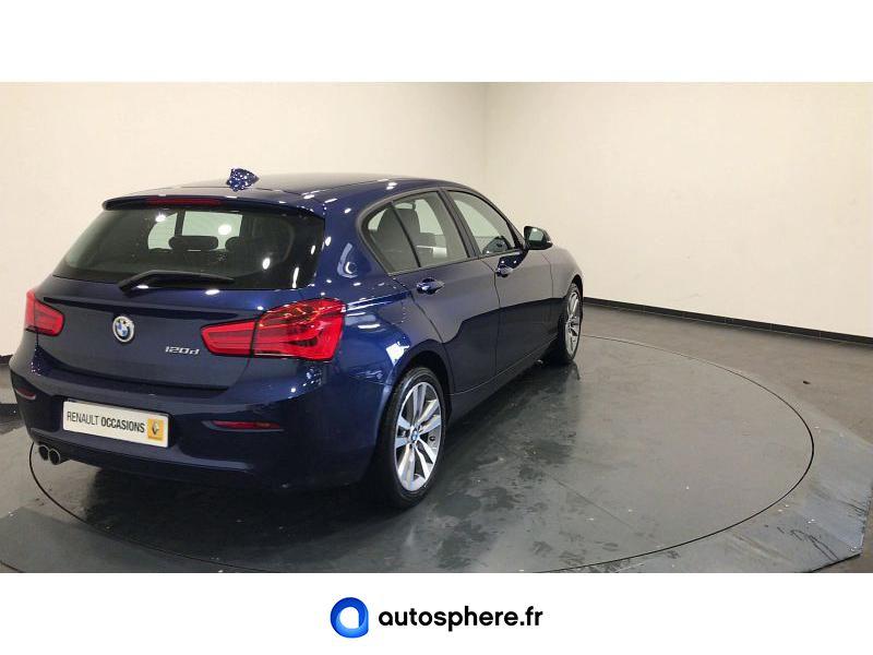 BMW SERIE 1 120D 190CH LOUNGE 3P EURO6C - Miniature 2
