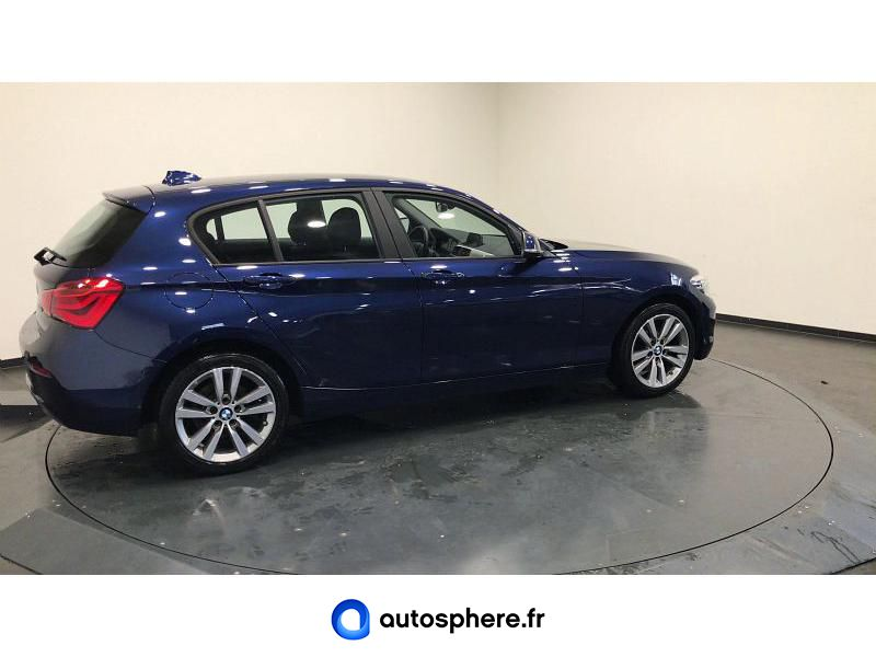 BMW SERIE 1 120D 190CH LOUNGE 3P EURO6C - Miniature 4