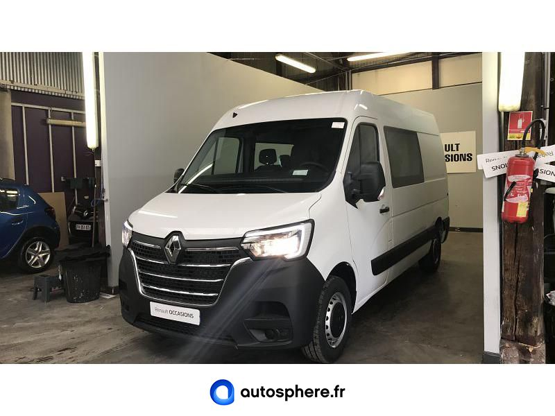 RENAULT MASTER F3500 L2H2 2.3 DCI 150CH ENERGY CABINE APPROFONDIE GRAND CONFORT BVR6 EURO6 - Miniature 1
