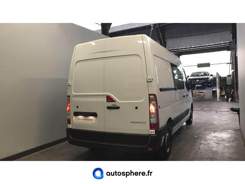 RENAULT MASTER F3500 L2H2 2.3 DCI 150CH ENERGY CABINE APPROFONDIE GRAND CONFORT BVR6 EURO6 - Miniature 2