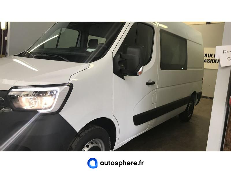 RENAULT MASTER F3500 L2H2 2.3 DCI 150CH ENERGY CABINE APPROFONDIE GRAND CONFORT BVR6 EURO6 - Miniature 3