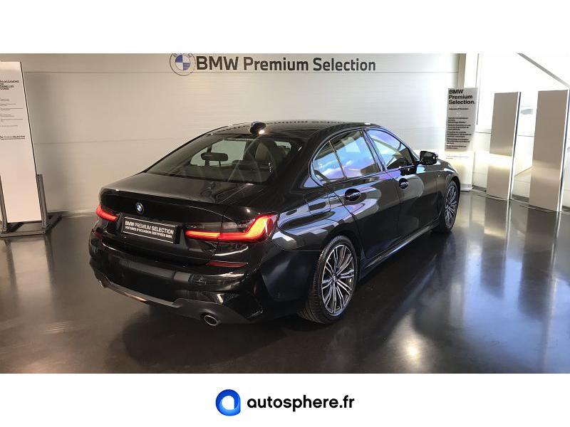 BMW SERIE 3 318D 150CH M SPORT 112G - Miniature 2