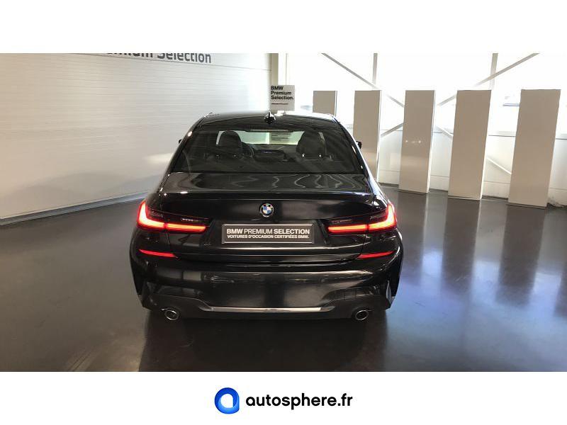 BMW SERIE 3 318D 150CH M SPORT 112G - Miniature 4