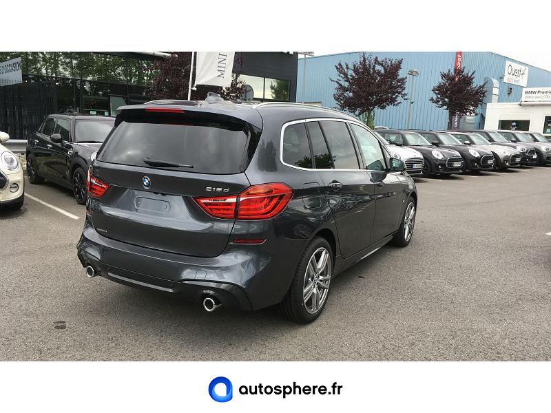 BMW SERIE 2 GRAN TOURER 218DA 150CH  M SPORT - Miniature 2