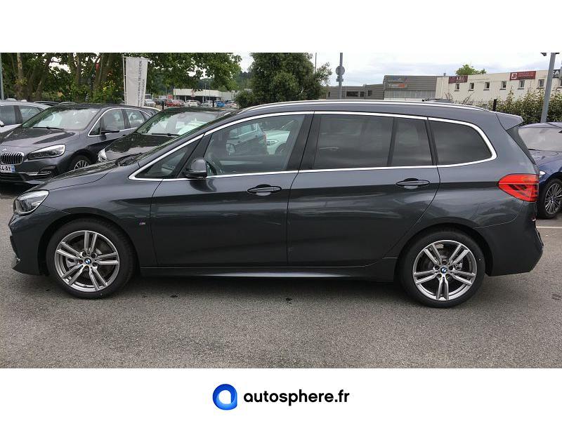BMW SERIE 2 GRAN TOURER 218DA 150CH  M SPORT - Miniature 3