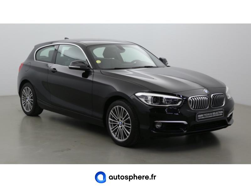 BMW SERIE 1 118DA 150CH URBANCHIC 3P EURO6C - Miniature 3