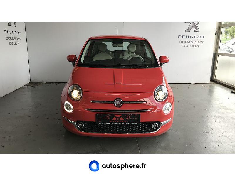 FIAT 500 1.2 8V 69CH ECO PACK LOUNGE EURO6D - Miniature 5