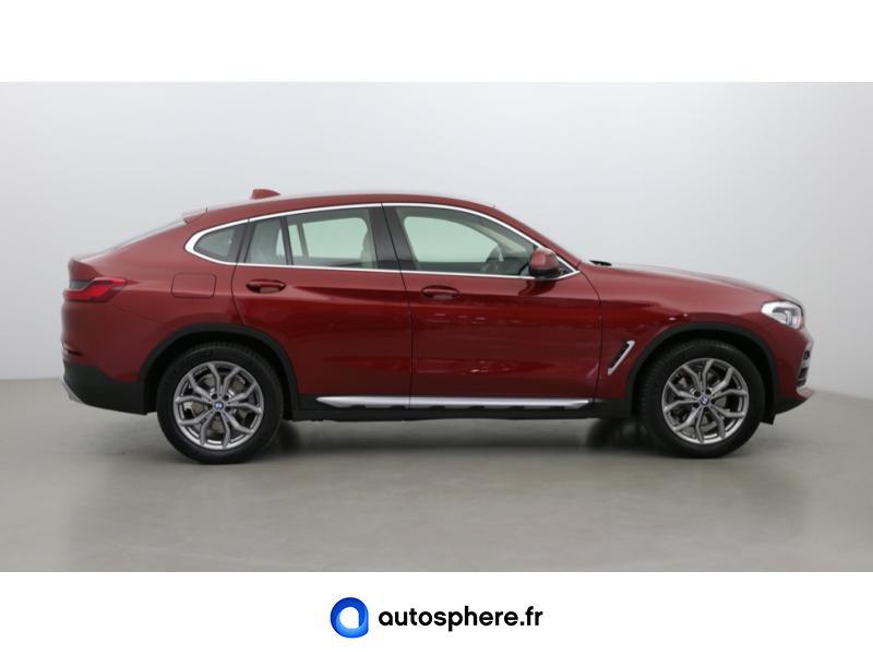 BMW X4 XDRIVE20D 190CH XLINE EURO6C - Miniature 4