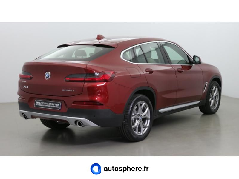 BMW X4 XDRIVE20D 190CH XLINE EURO6C - Miniature 5