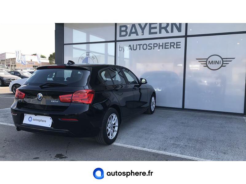 BMW SERIE 1 116D 116CH BUSINESS DESIGN 5P EURO6C - Miniature 2