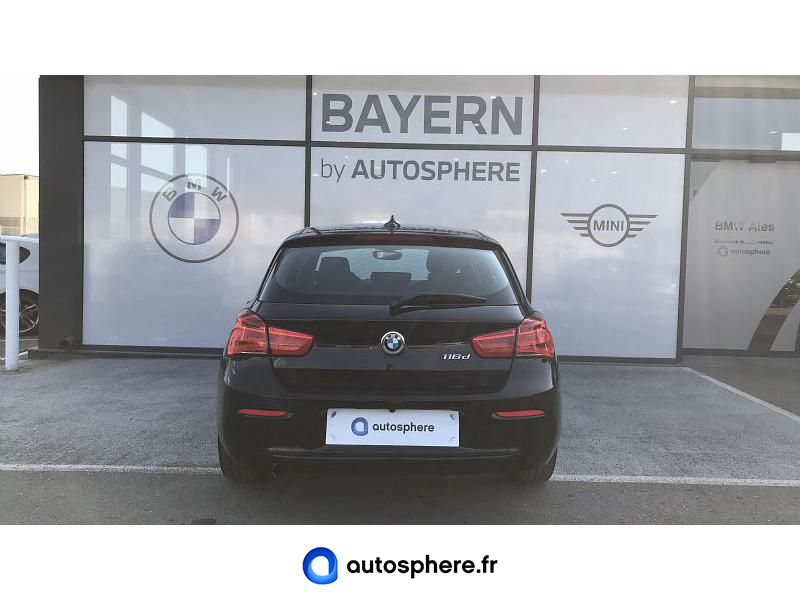 BMW SERIE 1 116D 116CH BUSINESS DESIGN 5P EURO6C - Miniature 4