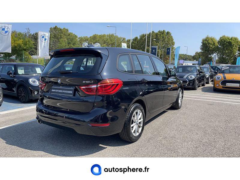 BMW SERIE 2 GRAN TOURER 216D 116CH PREMIERE - Miniature 2