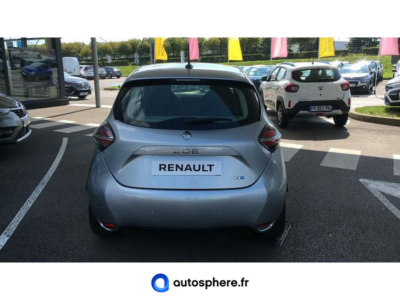 RENAULT ZOE E-TECH LIMITED CHARGE NORMALE R110 ACHAT INTéGRAL - 21 - Miniature 4