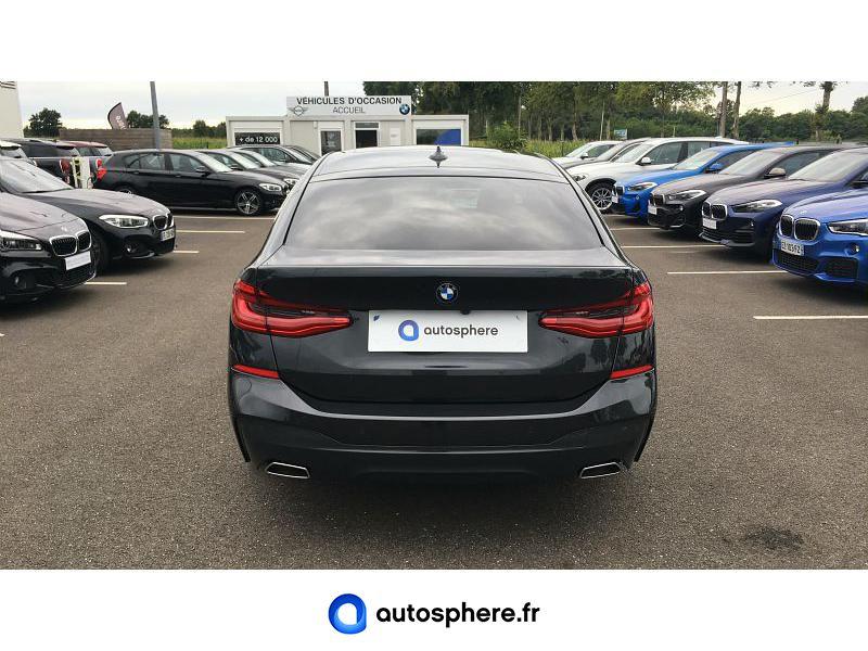 BMW SERIE 6 GRAN TURISMO 640D XDRIVE 320CH M SPORT EURO6D-T - Miniature 4
