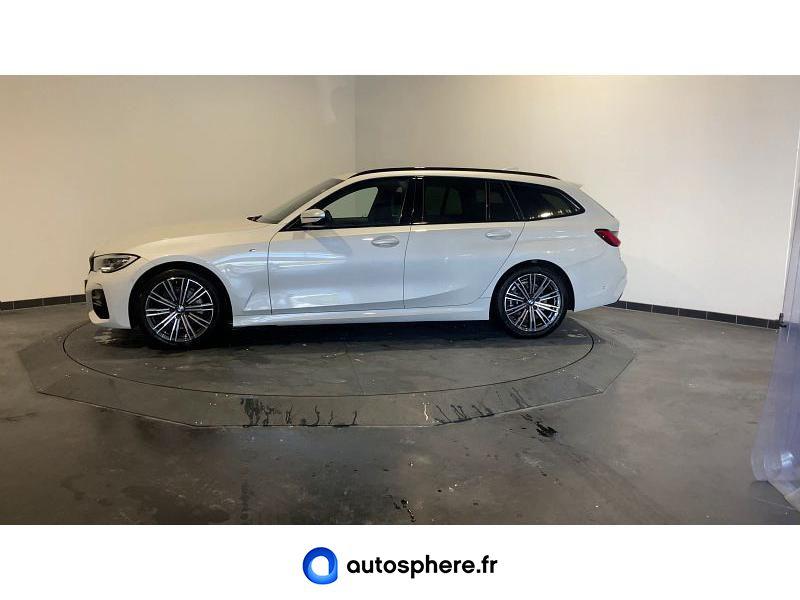 BMW SERIE 3 TOURING 320DA MH 190CH M SPORT - Miniature 3