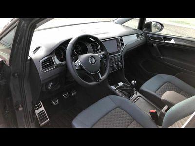 VOLKSWAGEN GOLF SPORTSVAN 1.6 TDI 115CH BLUEMOTION TECHNOLOGY FAP IQ.DRIVE EURO6DT - Miniature 4