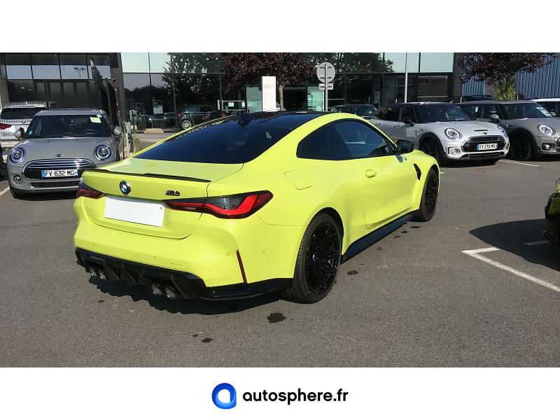 BMW M4 COUPE 3.0 510CH COMPETITION - Miniature 2