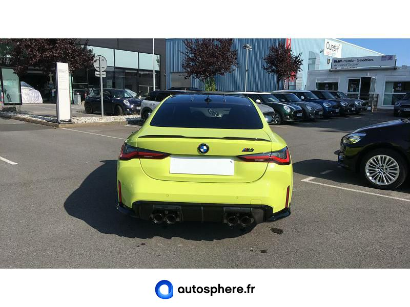 BMW M4 COUPE 3.0 510CH COMPETITION - Miniature 4