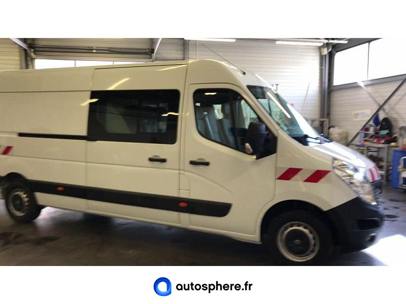 RENAULT MASTER F3500 L3H2 2.3 DCI 135CH ENERGY CABINE APPROFONDIE GRAND CONFORT - Miniature 2