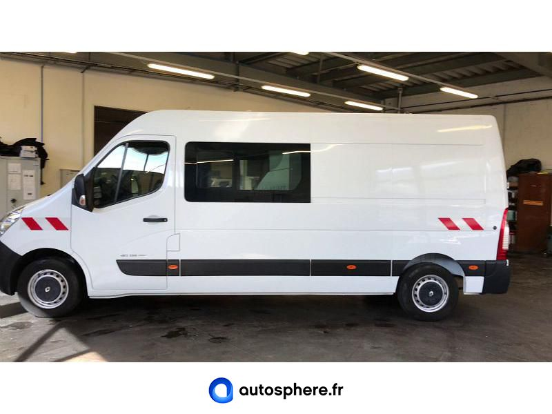 RENAULT MASTER F3500 L3H2 2.3 DCI 135CH ENERGY CABINE APPROFONDIE GRAND CONFORT - Miniature 3