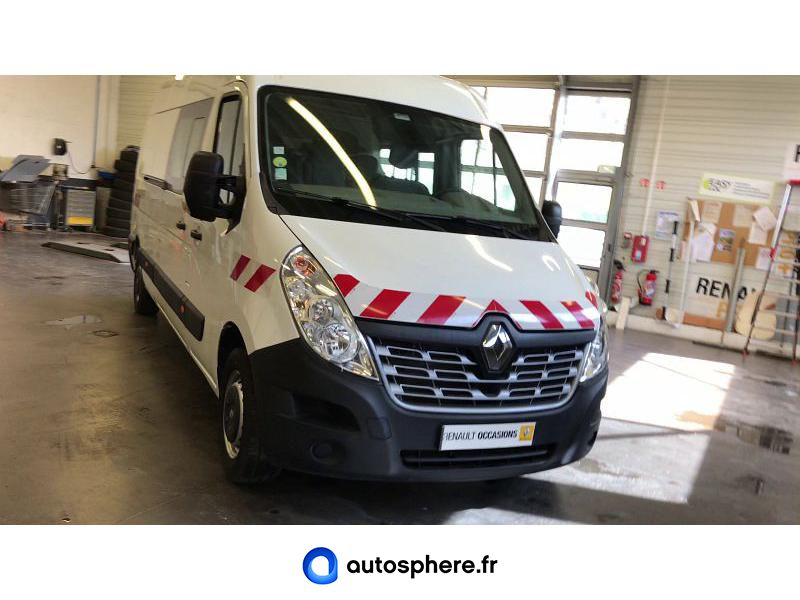 RENAULT MASTER F3500 L3H2 2.3 DCI 135CH ENERGY CABINE APPROFONDIE GRAND CONFORT - Miniature 4