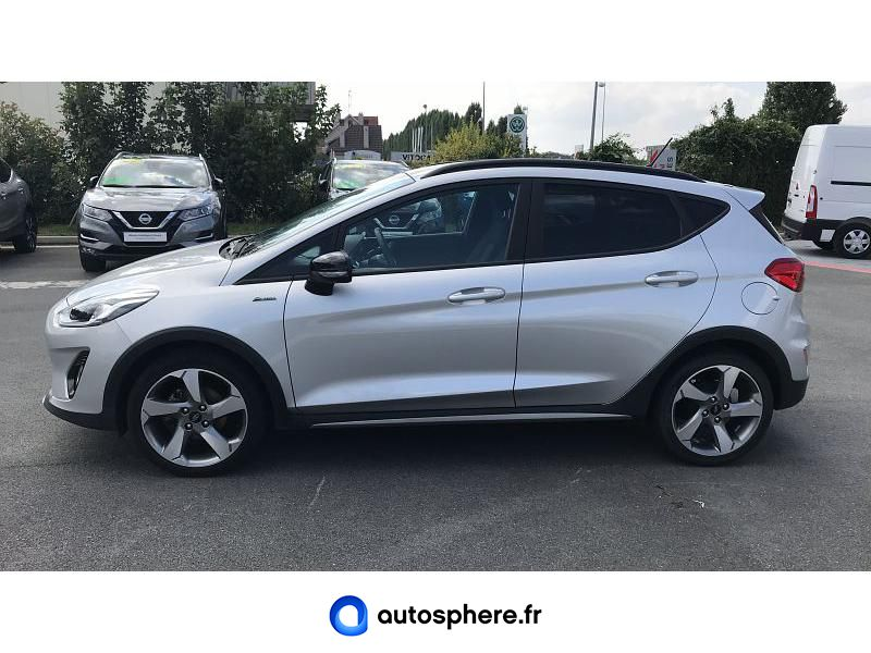 FORD FIESTA ACTIVE 1.0 ECOBOOST 85CH S&S 4CV EURO6.2 - Miniature 3
