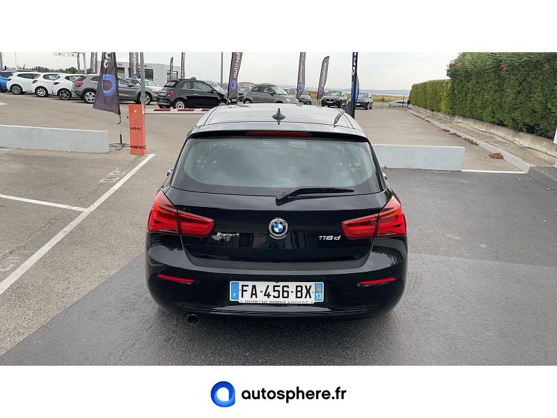 BMW SERIE 1 116DA 116CH BUSINESS DESIGN 5P EURO6C - Miniature 4