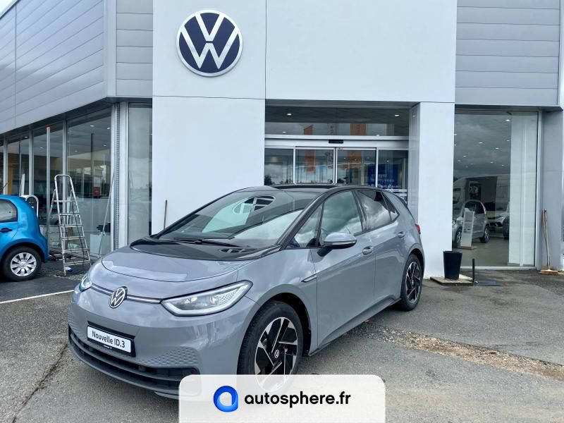 VOLKSWAGEN ID.3 58 KWH - 145CH BUSINESS - Photo 1