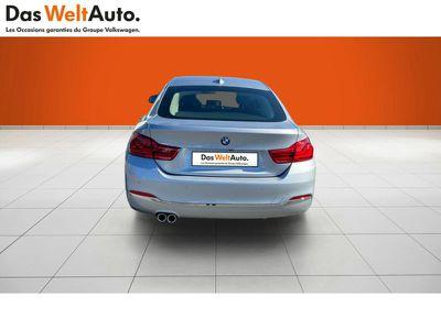 BMW SERIE 4 GRAN COUPE 420DA 190CH LUXURY EURO6D-T - Miniature 3
