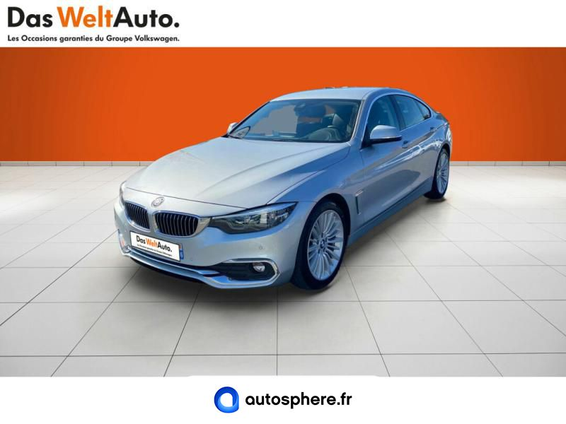 BMW SERIE 4 GRAN COUPE 420DA 190CH LUXURY EURO6D-T - Photo 1