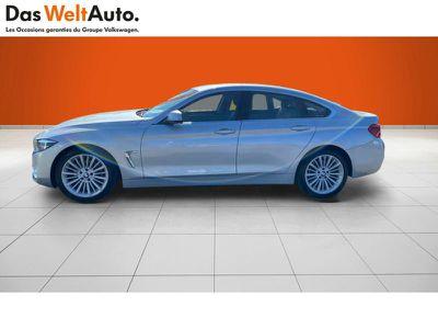 BMW SERIE 4 GRAN COUPE 420DA 190CH LUXURY EURO6D-T - Miniature 2